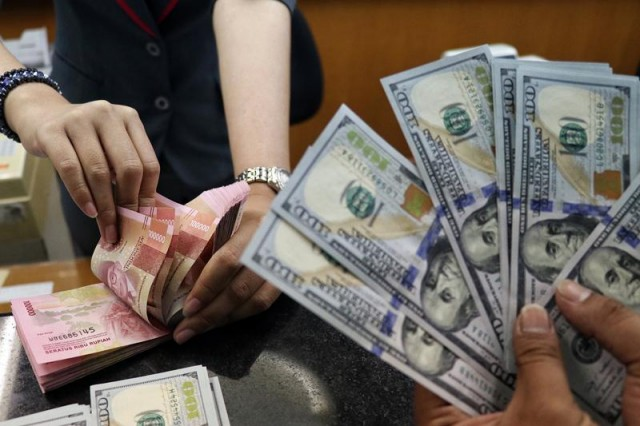 Ilustrasi valuta asing